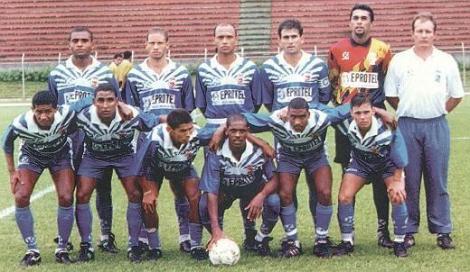 Time campeão em 1996