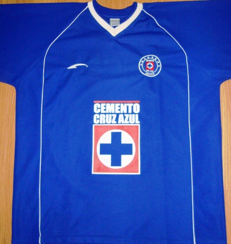 c5b62e6680 73- Camisa do Desportivo Cruz Azul